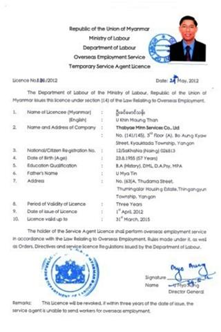 TBM Licence01