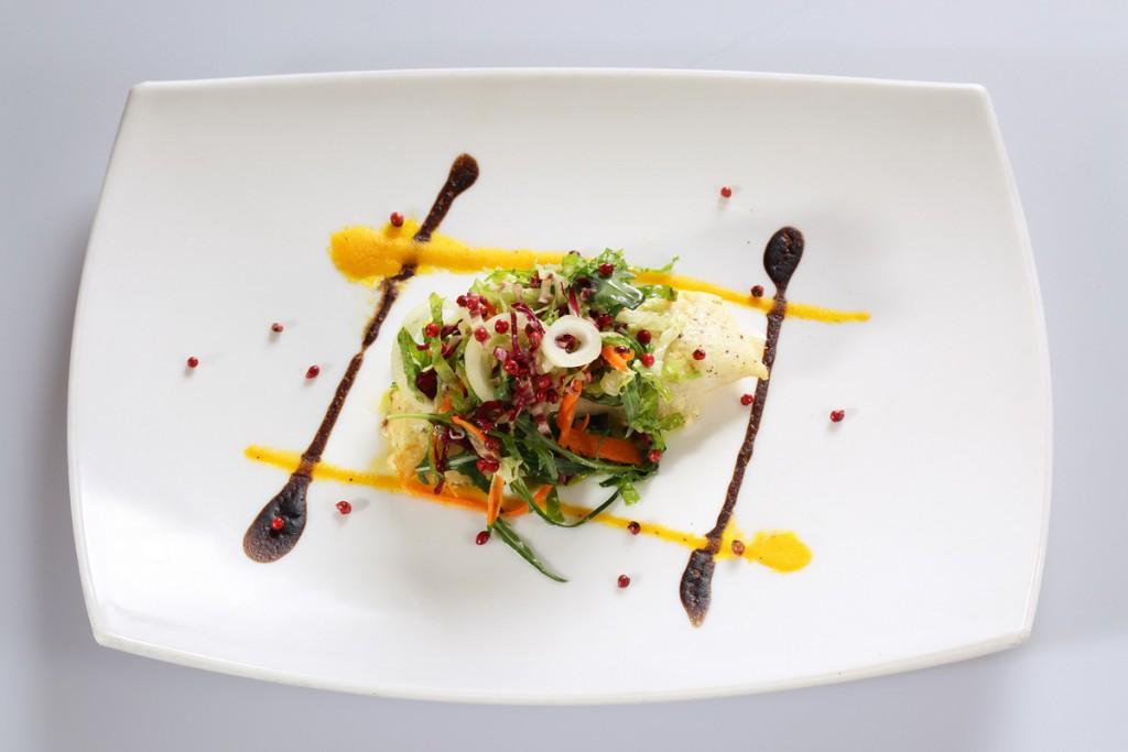 Lopera_C1 Filetto di Merluzzo Nordico con Pesto di Zucchine