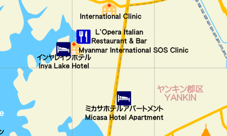 Micasa hotel apartment map01B